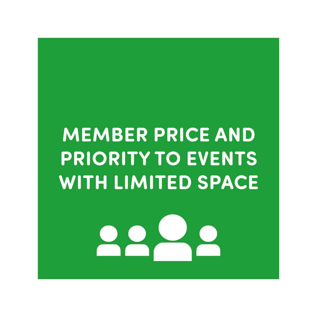 member-price-and-priority-to-events-with-limited-space