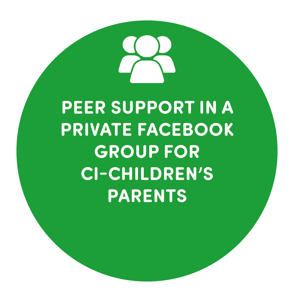 peer-support-in-a-private-facebook-group-for-ci-childrens-parents