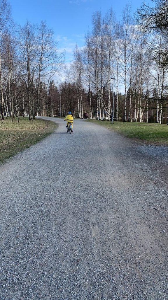 LapCI ry:n puheenjohtaja Minna Mäkelän ottama kuva huhtikuulta