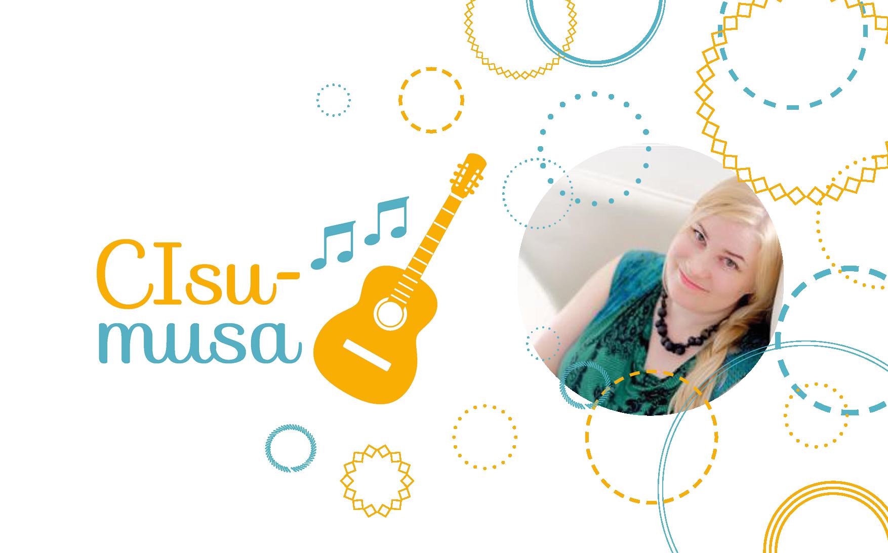 CIsumusa-artikkelin kansikuva opiskelija Leena-Maria