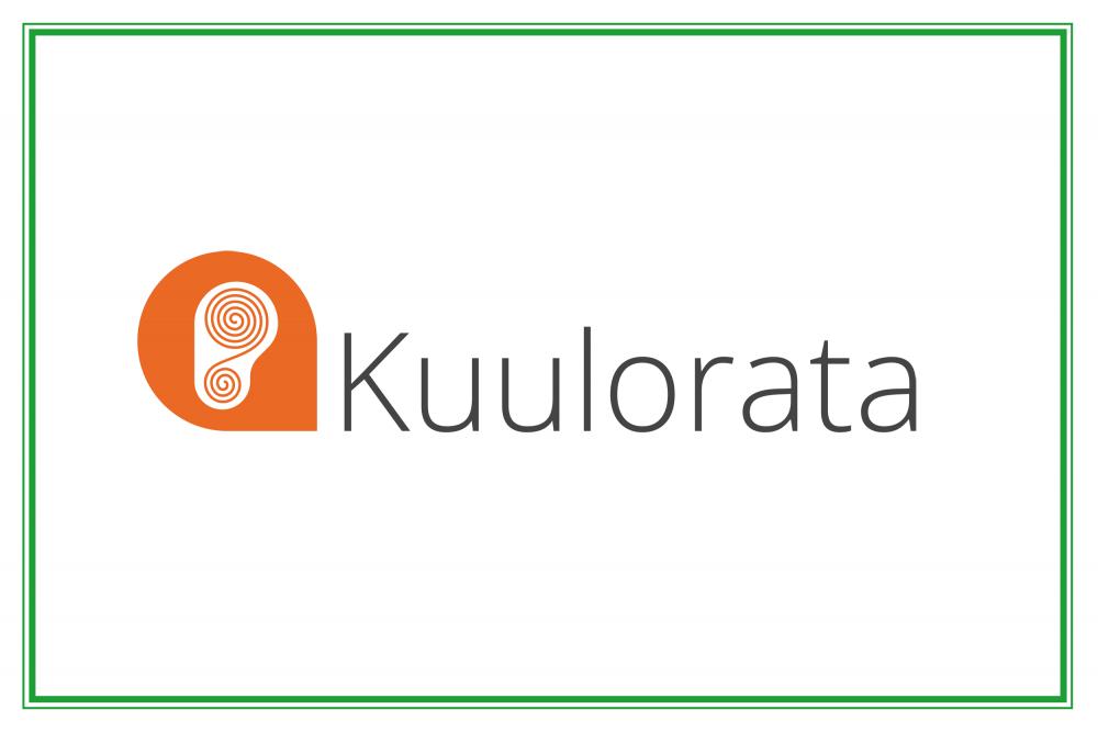 Kuvassa Kuulorata-sovelluksen logo